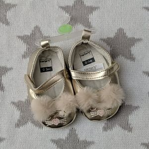 Carters Baby 0-3m Ballet Flats Slippers